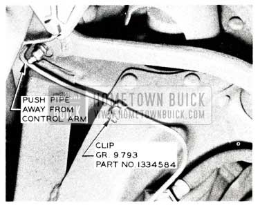 1955 Buick Brakes Pipe Clip
