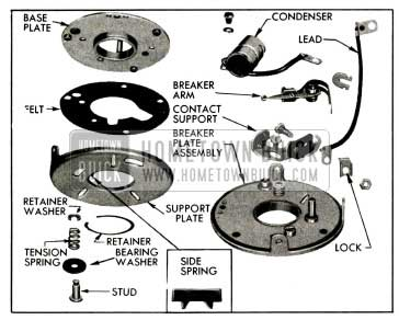 1955 Buick Breaker Plate Parts