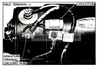 1955 Buick Capacitor Mounted on Generator