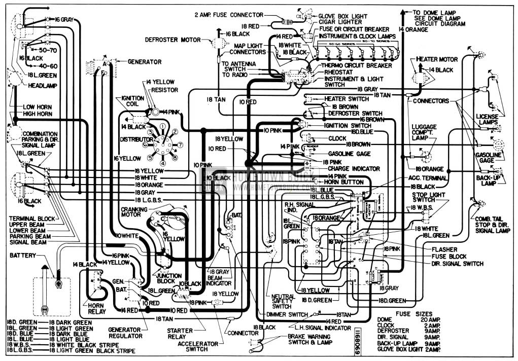 Magnificent 1955 Buick Wiring Diagrams Hometown Buick Wiring Cloud Usnesfoxcilixyz