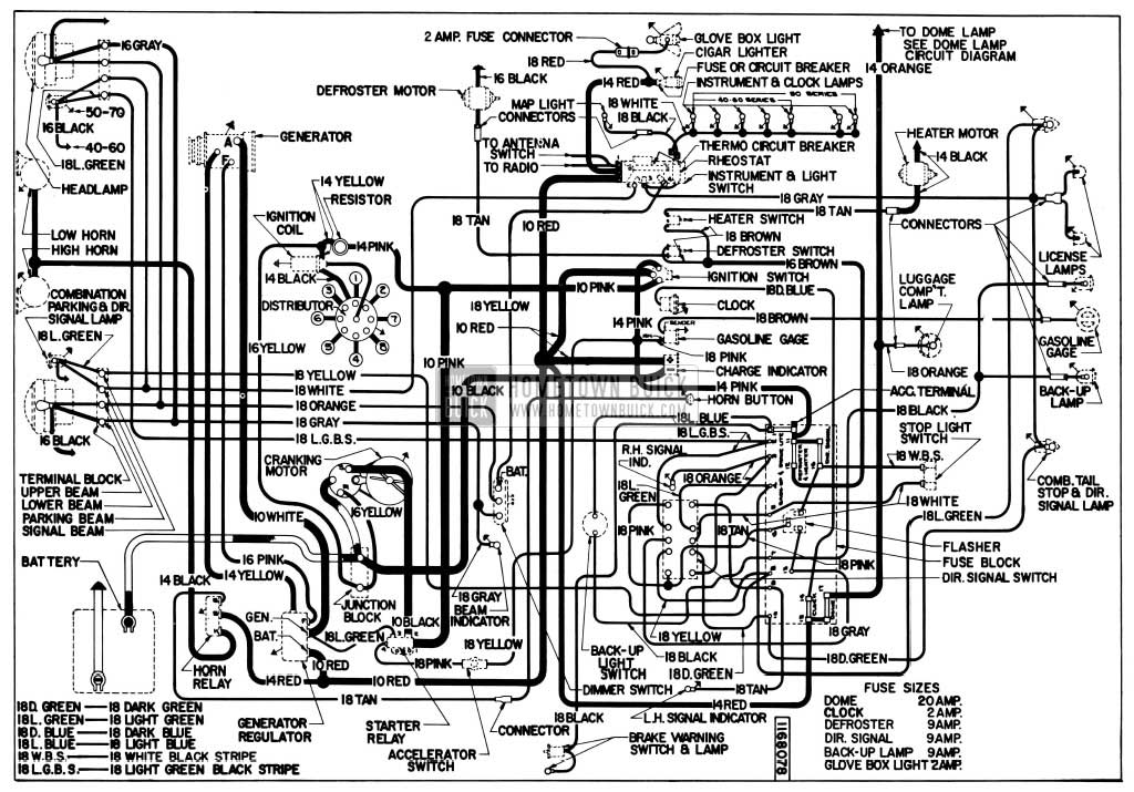 1955 buick wiring diagrams hometown buick 48 chevy wiring diagram wiring diagram