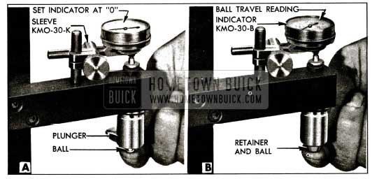 1955 Buick Checking Ball Travel