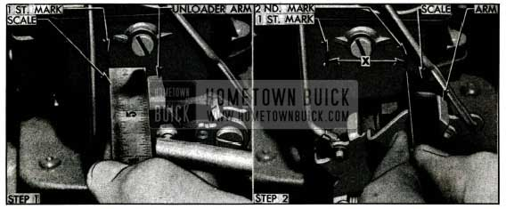 1955 Buick Checking Carter Vacuum Switch Timing