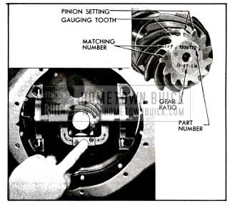 1955 Buick Checking Pinion Setting With Indicator Gauge