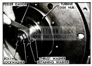 1955 Buick Checking Turbine Clearance