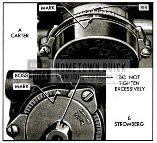 1955 Buick Choke Thermostat Settings