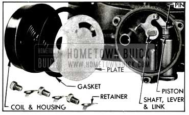 1955 Buick Climatic Control Parts