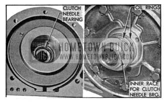 1955 Buick Clutch Needle Bearing and Reaction Shaft
