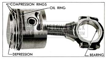 1955 Buick Connecting Rod and Piston Assembly