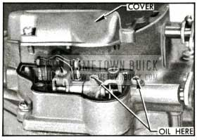 1955 Buick Counterhaft Lubrication-Carter 4-Barrel