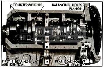 1955 Buick Crankshaft and Bearings
