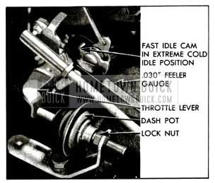 1955 Buick Dash Pot Adjustment