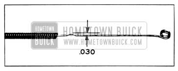1955 Buick Defroster Valve Control Wire