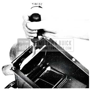 1955 Buick Defroster Valve Flutter