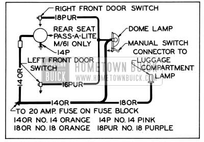 1955 Buick Wiring Diagrams