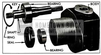 1955 Buick Drive Shaft, Bearings, and Seal