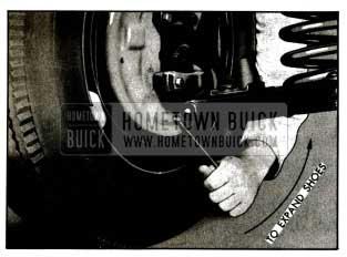 1955 Buick Expanding Brake Shoes