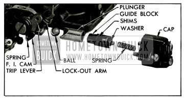 1955 Buick Fast Idle Cam and Vacuum Switch Parts