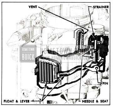 1955 Buick Float System-Carter WCD Carburetor