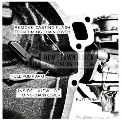 1955 Buick Fuel Pump Arm