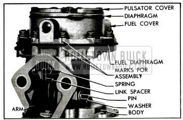 1955 Buick Fuel Section of Pump