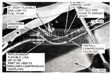 1955 Buick Gasoline Feed Line
