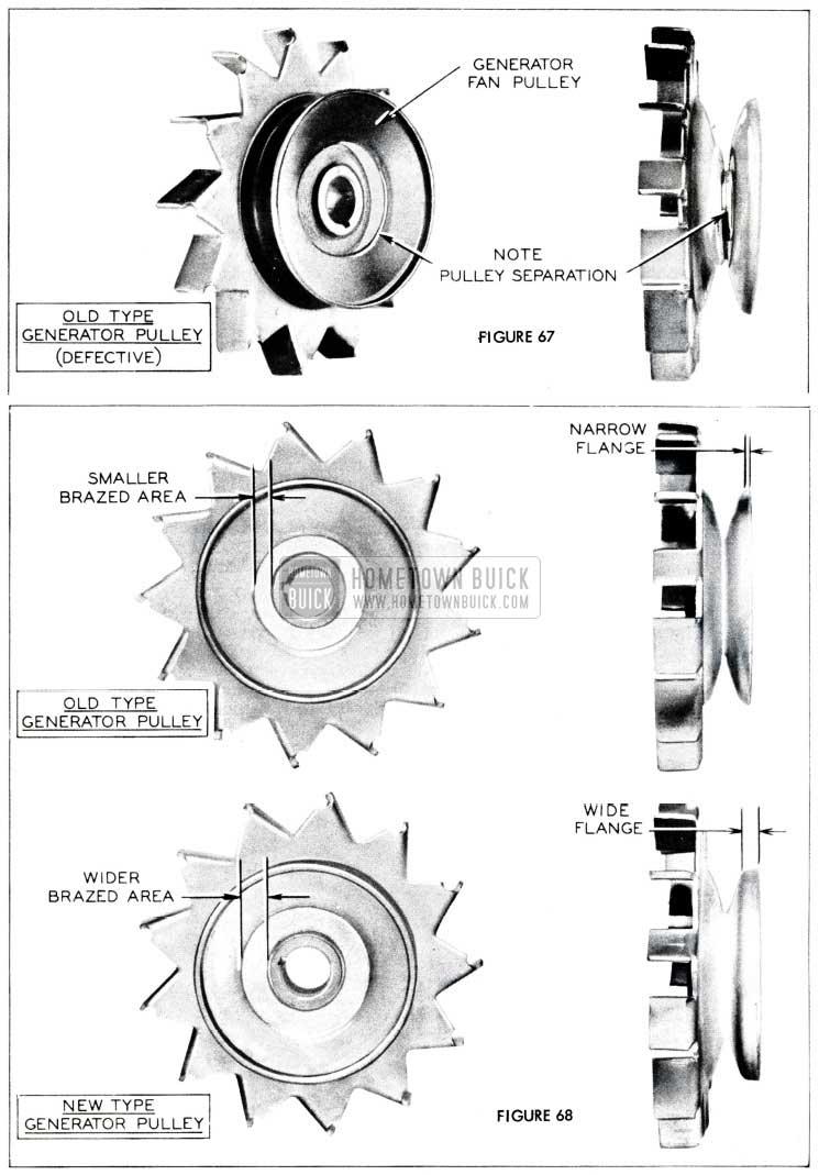 1955 Buick Generator Pulley