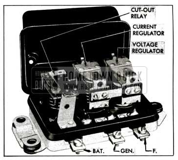 1955 Buick Generator Regulator