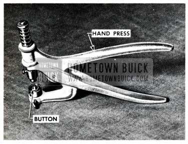 1955 Buick Hand Press