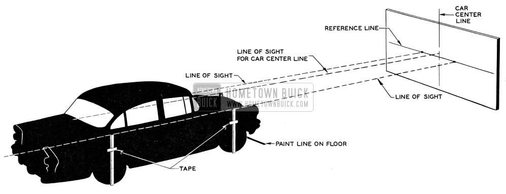 1955 Buick Headlamp Aiming