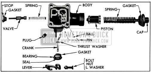 1955 Buick High Accumulator-Disassembled
