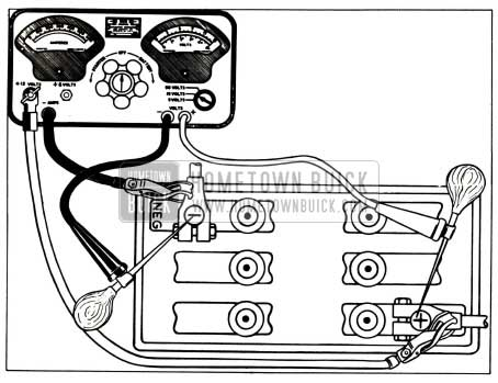1955 Buick High Discharge Test Connections