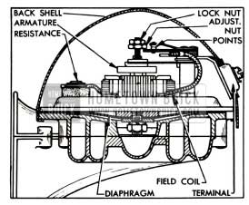 1955 Buick Horn Contact Point Adjustment