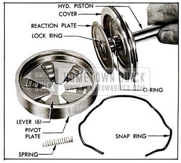 1955 Buick Hydraulic Piston and ttached Parts