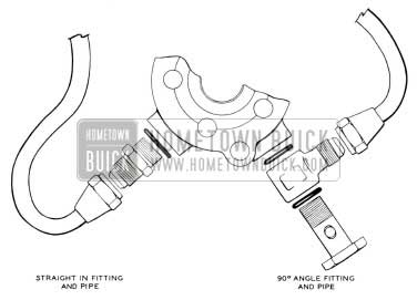 1955 Buick Hydraulic Steering Gear