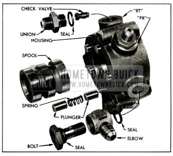 1955 Buick Hydraulic Valve Parts