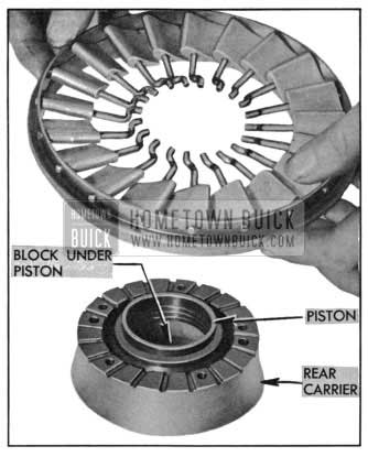1955 Buick Installing Stator Carrier Ring and Blades