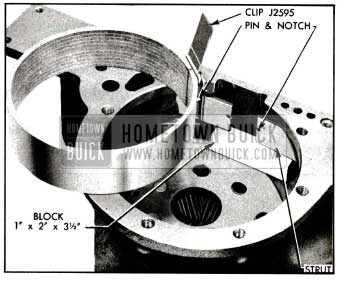 1955 Buick lnstallation of Low Band and Struts