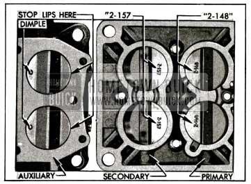 1955 Buick lnstallation of Throttle Valves