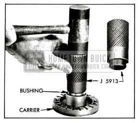 1955 Buick lnstalling Bushing in Blade Carrier