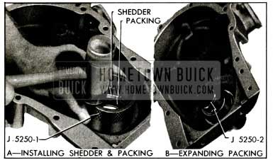 1955 Buick lnstalling Crankshaft Oil Seal