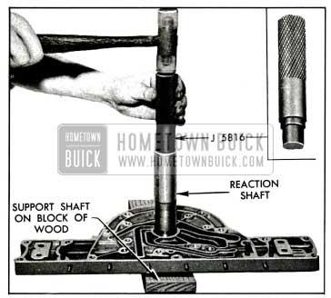 1955 Buick lnstalling Input Shaft Bearing