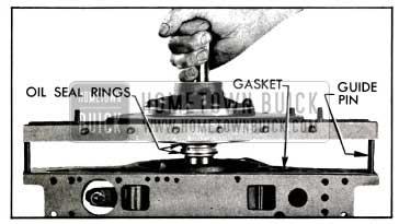 1955 Buick lnstalling Reaction Shaft Flange and Gasket