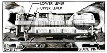 1955 Buick lnstalling Valve and Servo Body Assembly