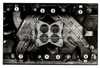 1955 Buick lntake Manifold Distribution