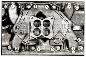 1955 Buick lntake Manifold Heat Chambers