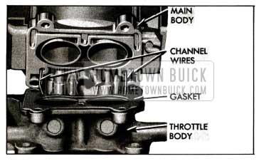 1955 Buick Location of Idle Channel Wires
