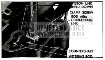 1955 Buick Metering Rod Adjustment