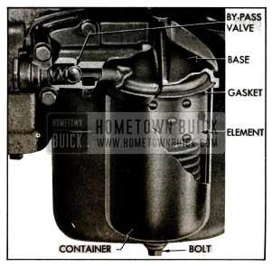 1955 Buick Oil Filter Installation