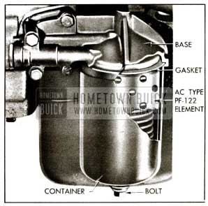 1955 Buick Oil Filter